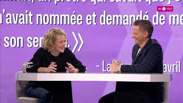 Entrevue inédite avec Elise Guillbault.