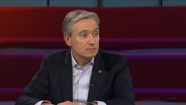 Entrevue avec François-Philippe Champagne