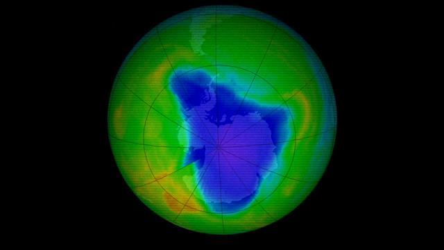 Aide mémoire : Un trou dans la couche d'ozone : 35 ans déjà