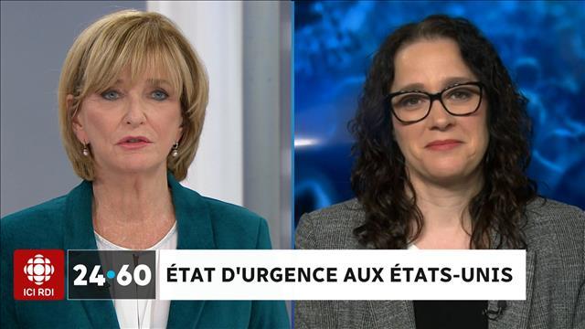 ÉTAT D'URGENCE AUX ÉTATS-UNIS