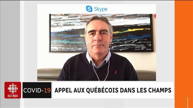 Appel Aux Quebecois Dans Les Champs Videos Ici Radio Canada Ca