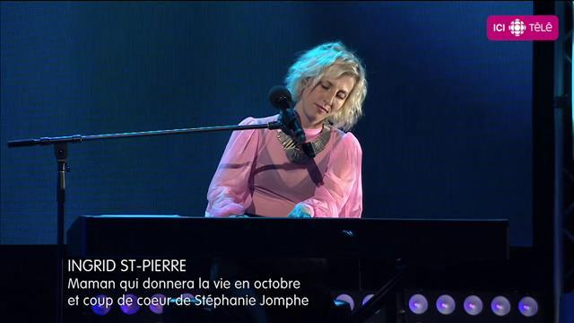 Ingrid St-Pierre chante C'est beau la vie