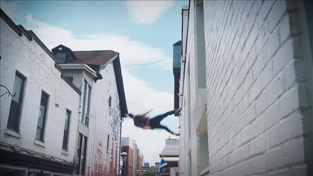 Aperçu Montréal presque cirque : Au hasard de la ville