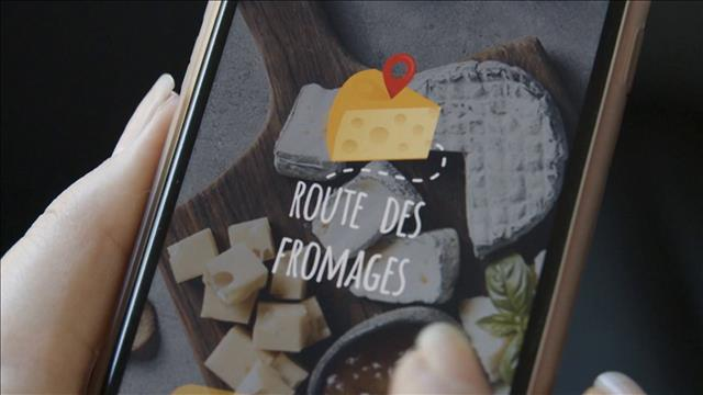 Une application pour la route des fromages
