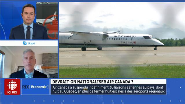 Devrait-on nationaliser Air Canada ?