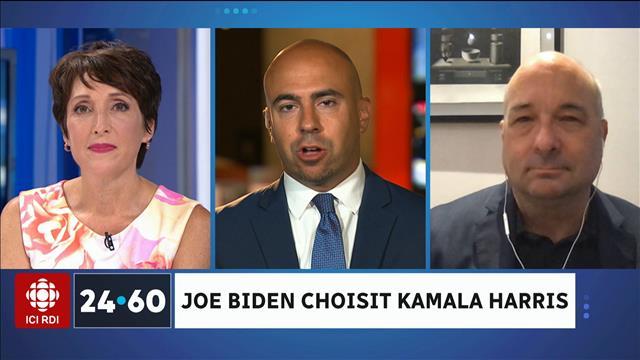 Joe Biden choisit Kamala Harris