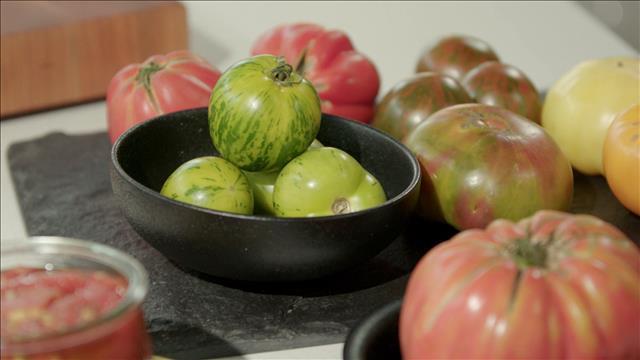 Cuisiner les tomates ancestrales