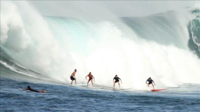 Surfer sur l'inconnu