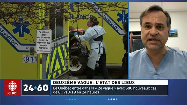 Le Québec plonge dans la 2e vague