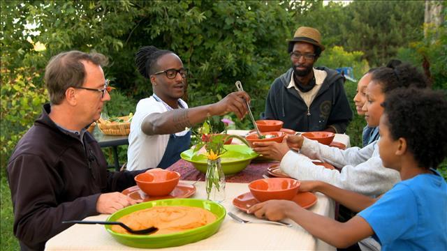 Des légumes afro-antillais d'ici