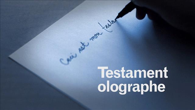 Passez le mot sur les testaments olographes
