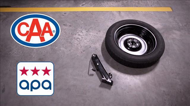 Passez le mot sur les pneus de secours