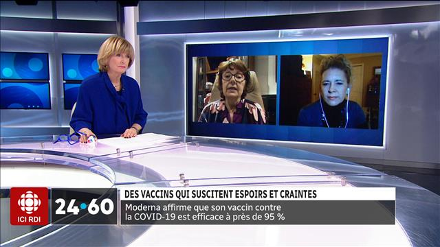 COVID-19: Deuxième vaccin prometteur et re-confinement