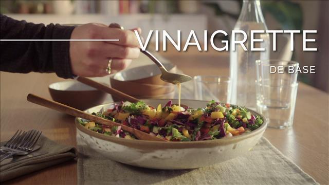 Salade chop-chop et sa vinaigrette de base