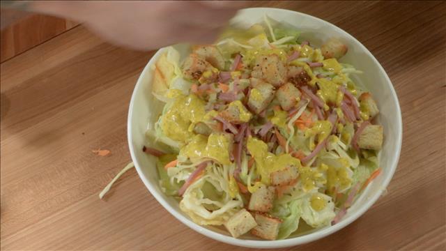 La salade de viande fumée