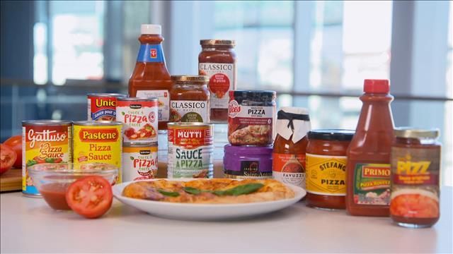 Choisir une bonne sauce à pizza