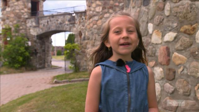 La talentueuse Magalie Provencher chante le yodel à 8 ans