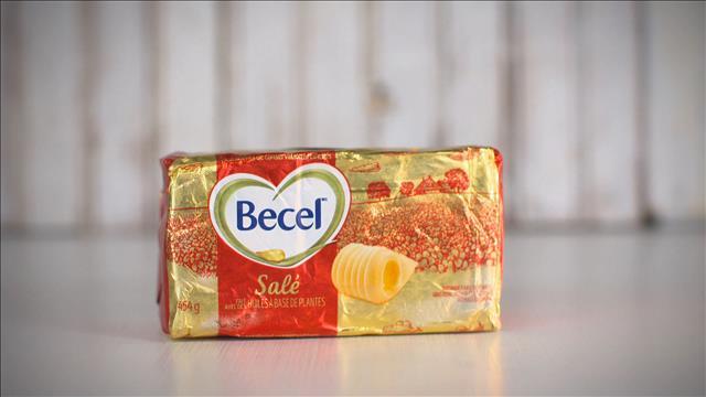 De la margarine emballée comme du beurre