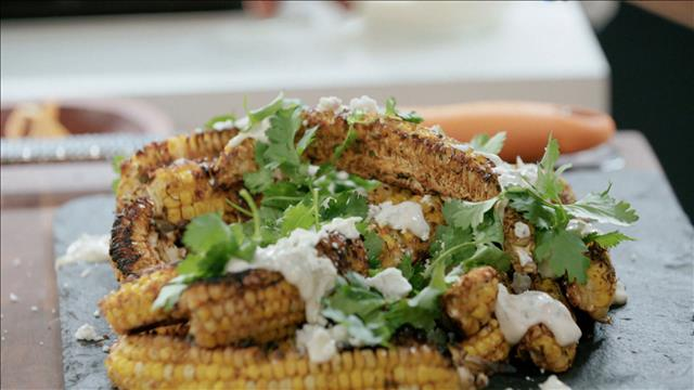 Une mayonnaise végétalienne pour accompagner le maïs