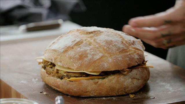 Montage du sandwich