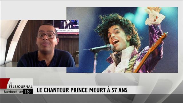 Le chanteur Prince meurt à 59 ans