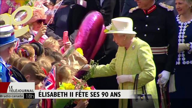 Élisabeth II fête ses 90 ans