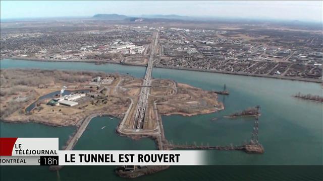 Le protocole d'urgence dans le pont-tunnel LaFontaine