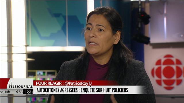 Quand la police est une menace pour les femmes autochtones de Val-d'Or : entrevue avec @michele_audette #TJ18h