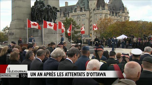 Un an après les attentats d'Ottawa