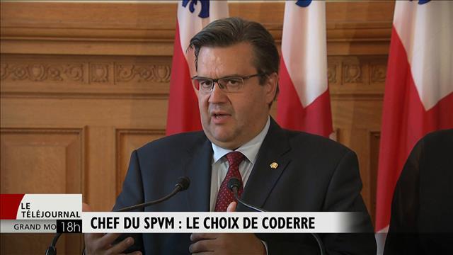 SPVM : Denis Coderre choisit Philippe Pichet