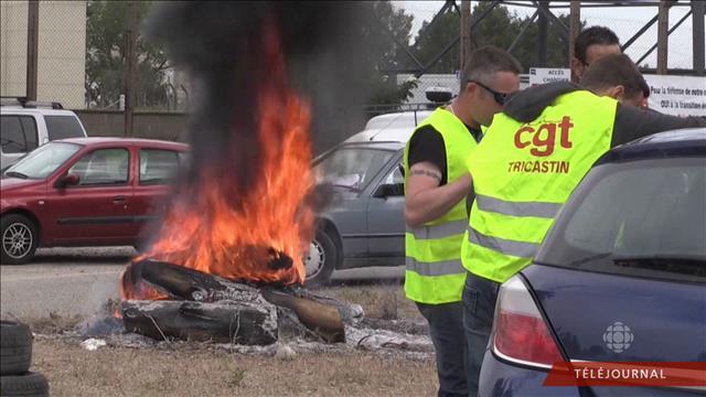 La crise sociale prend de l'ampleur en France