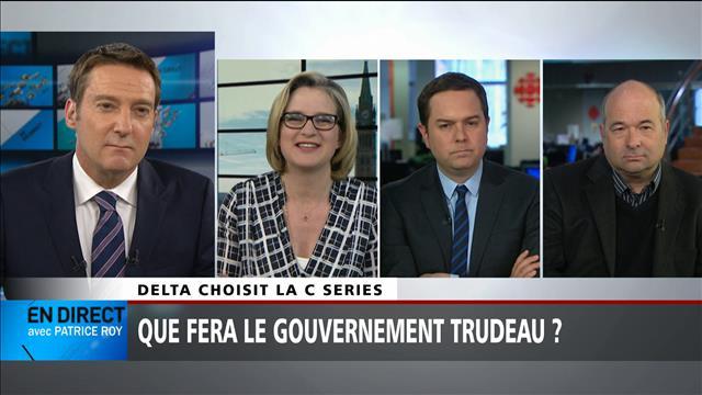 Notre panel politique du 28 avril : Delta, Bombardier et la C Series