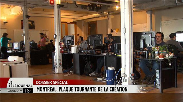 Montréal, plaque tournante de la création