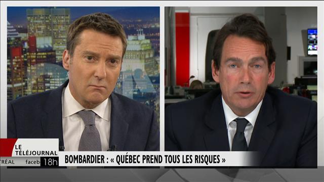 Bombardier : réactions à l'investissement de Québec