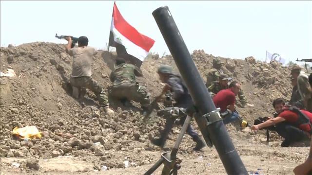 L'armée irakienne lance l'assaut dans le sud de Falloujha