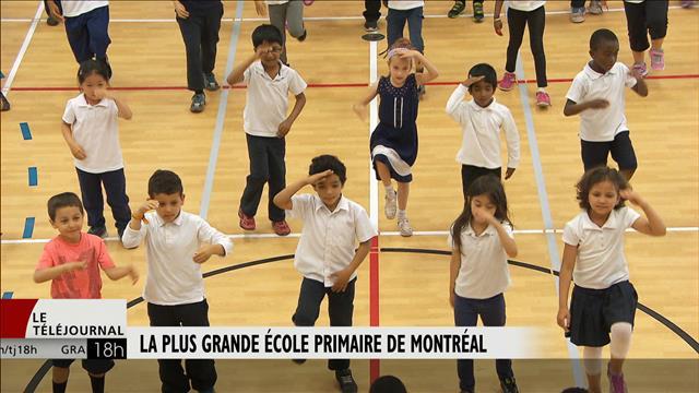 La plus grande école primaire de Montréal