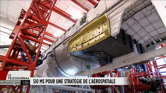 510 M$ pour une stratégie de l'aérospatiale