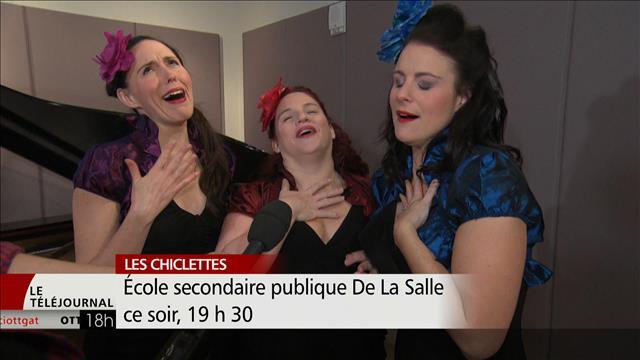 La Fondation Jean-Claude Bergeron présente le spectacle les Chiclettes