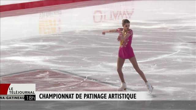 Le Championnat national de patinage artistique se poursuit à Ottawa
