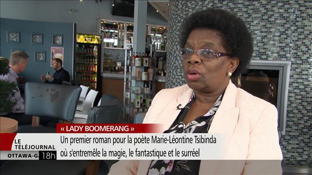 «Lady Boomerand», le premier roman de Marie-Léontine Tsibinda