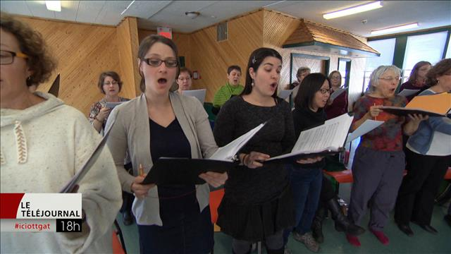 Le Choeur classique de l'Outaouais a participé à l'enregistrement d'un album