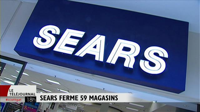 Sears ferme 59 magasins
