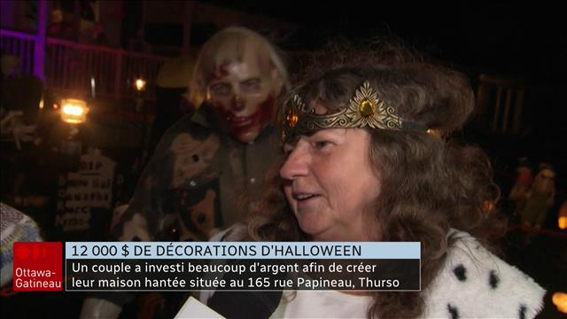 12 000$ de décorations d'Halloween