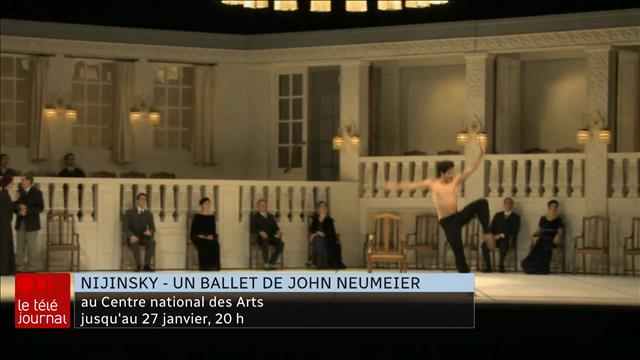 Ballet Nijinsky au Centre national des Arts