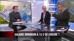 Salaire minimum à 15$