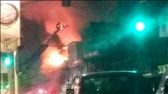 Images de l'incendie à St-Raymond-de-Portneuf
