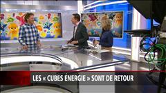 Les «cubes énergie» sont de retour