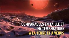 Découverte de trois exoplanètes « potentiellement habitables »