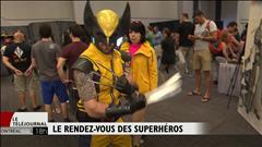 Rendez-vous des superhéros au Comiccon de Montréal
