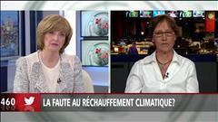 La faute aux changements climatiques?